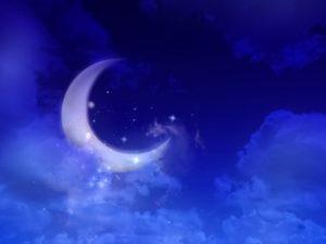 ボイドタイムの月の印象